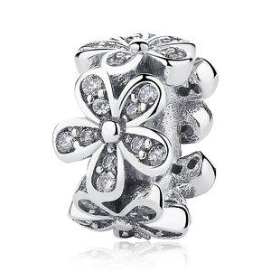 Talisman din argint pentru spatiere cu Magnolie