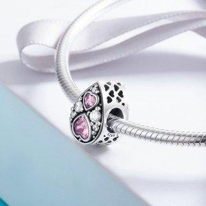 Talisman din argint Pink Love
