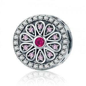 Talisman din argint Pink Mozaic