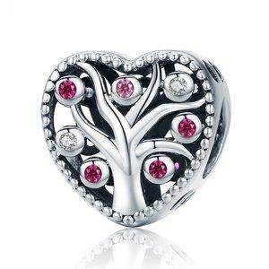 Talisman din argint Pink Tree of Life