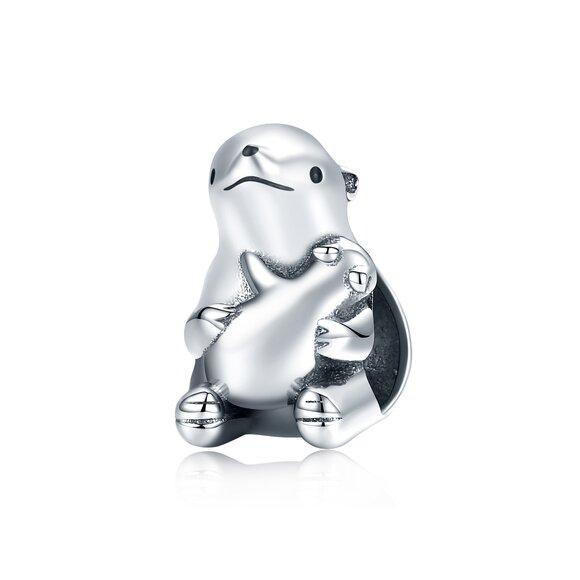 Talisman din argint Polar Mama Bear
