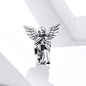 Talisman din argint Praying Angel