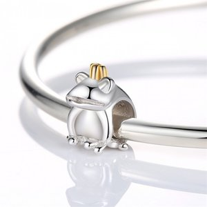 Talisman din argint Prince Frog