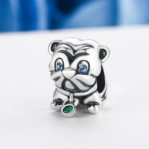 Talisman din argint Pug Puppy