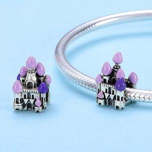 Talisman din argint Purple Castle