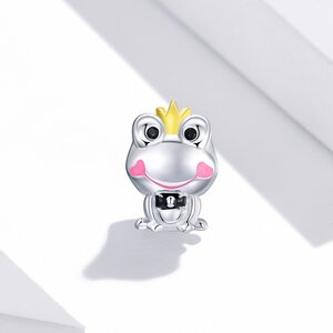 Talisman din argint Queen Frog