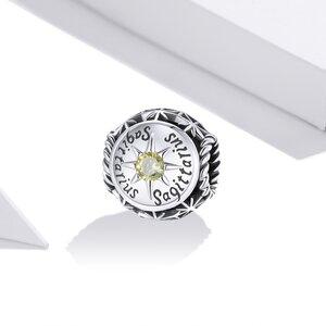Talisman din argint Sagittarius Zodiac Sun