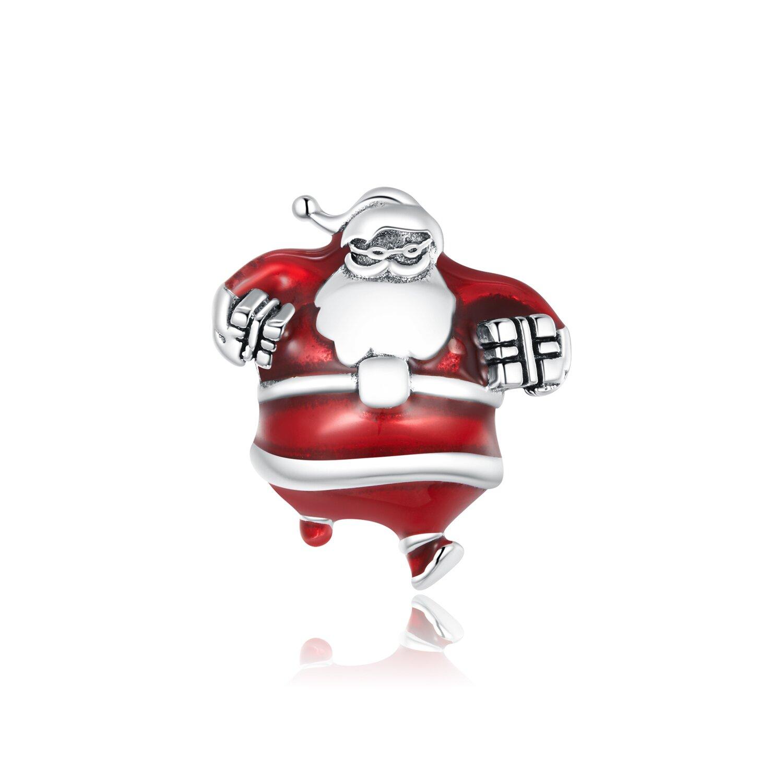 Talisman din argint Santa Claus poza 2021