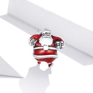 Talisman din argint Santa Claus