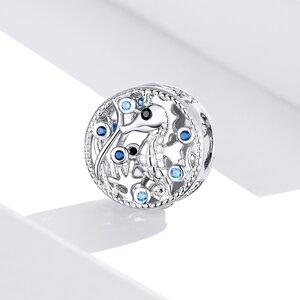 Talisman din argint Seahorse