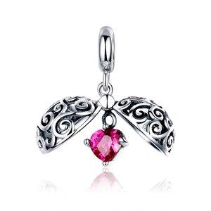 Talisman din argint Secret Heart