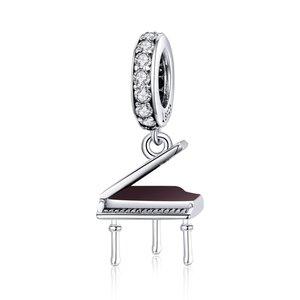Talisman din argint Shiny Piano