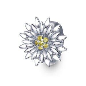 Talisman din argint Shiny Sun Bead