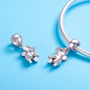 Talisman din argint Silver Baby Elephant