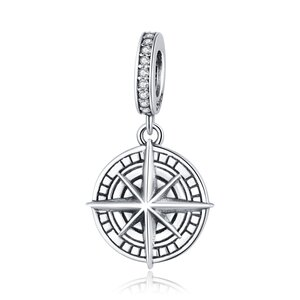 Talisman din argint Silver Compass Pendant