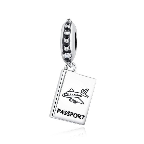 Talisman din argint Silver Passport