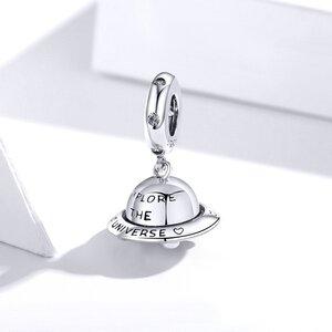 Talisman din argint Silver Spaceship