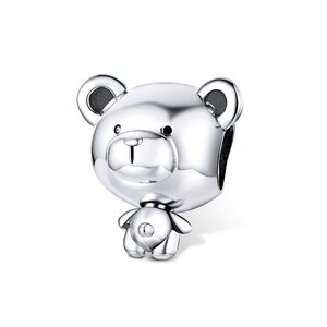 Talisman din argint Silver Teddy