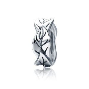 Talisman din argint Silver Tree Leaves