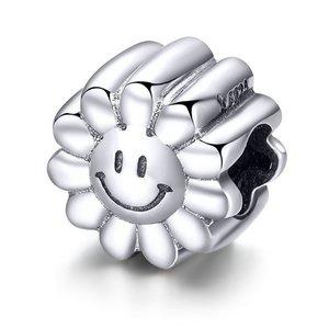 Talisman din argint Smiley Sun