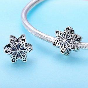 Talisman din argint Snowflake