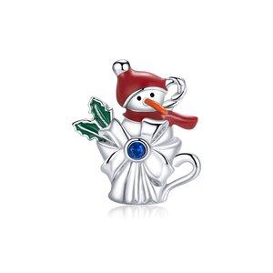 Talisman din argint Snowman Cup