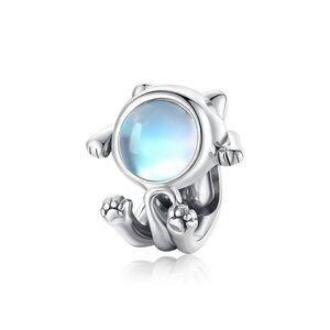 Talisman din argint Space Kitty