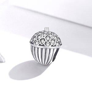 Talisman din argint Sparkling Acorn