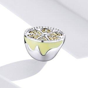 Talisman din argint Sparkling Lemon
