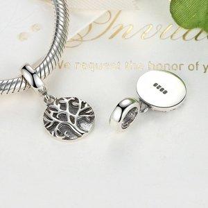 Talisman din argint sub forma de Pandantiv cu Copacel Patinat