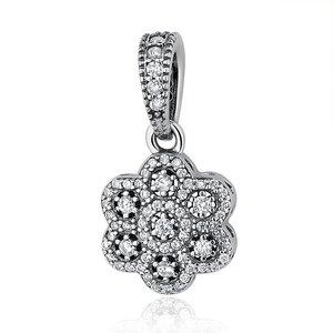 Talisman din argint sub forma de Pandantiv cu Floare