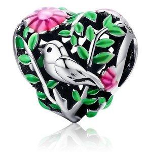Talisman din argint Summer Bird