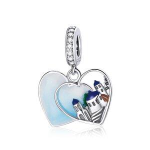 Talisman din argint Town's Heart