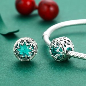 Talisman din argint Turquoise Star