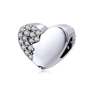 Talisman din argint Two Sides of a Heart