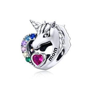 Talisman din argint Unicorn Love