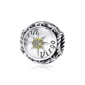 Talisman din argint Virgo Zodiac Sun