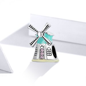 Talisman din argint  Windmill