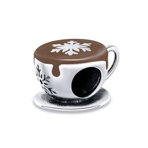 Talisman din argint Winter Hot Chocolate
