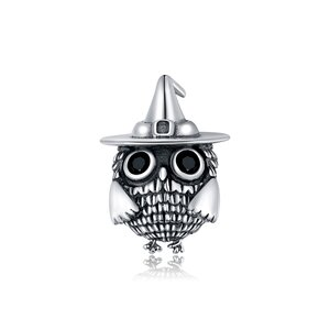 Talisman din argint Witchy Owl
