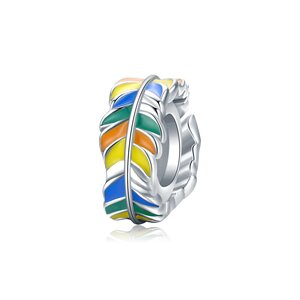 Talisman din Colorful Leafs Bead