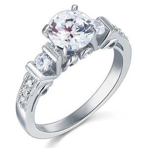 Inel din argint Artistique Diamond