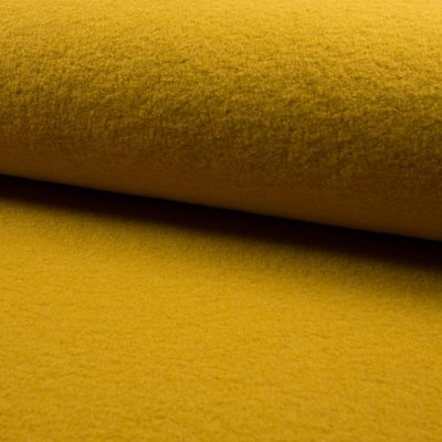 100% Wool Boiled - Ocre