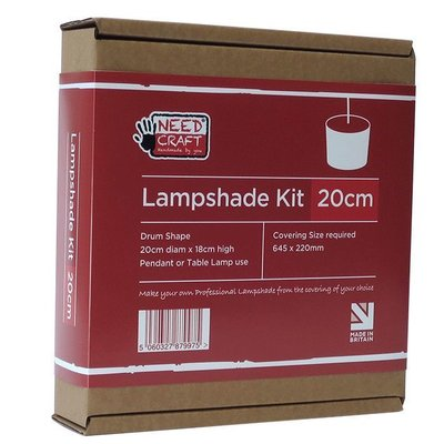 20cm Drum Lampshade Making Kit