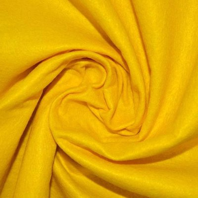 40% Wool felt - Yellow