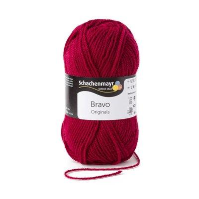 Acrylic yarn Bravo- Burgundy 08222