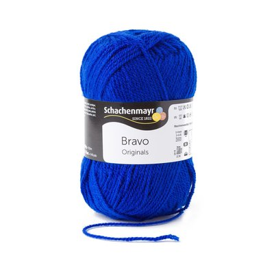Acrylic yarn Bravo- Royal 08211