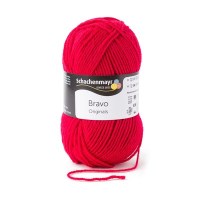 Acrylic yarn Bravo - Ruby 08309