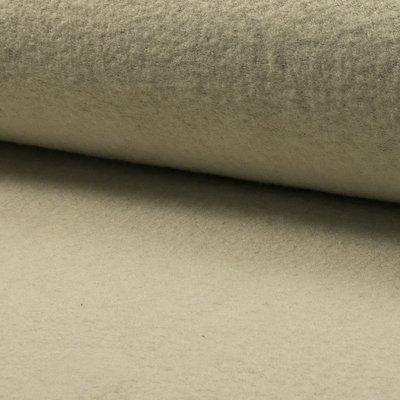 Boiled Wool Fabric - Ecru