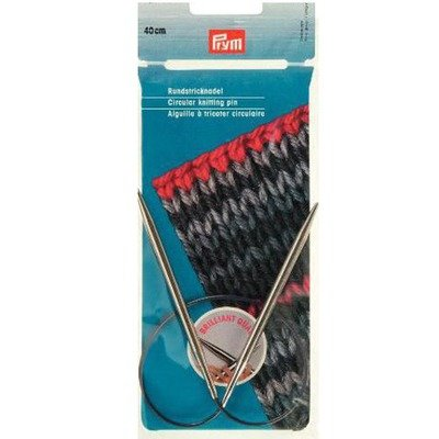 Circular Knitting Pin Brilliant Quality 40 cm / 2 -12 mm